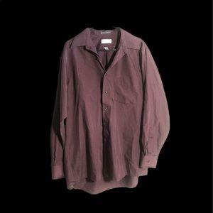 VAN HEUSEN Size Large Button Down Shirt